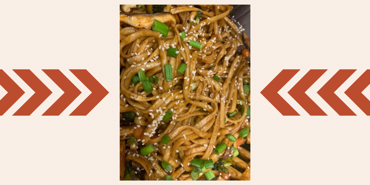 Reader recreation Japanese pan noodles