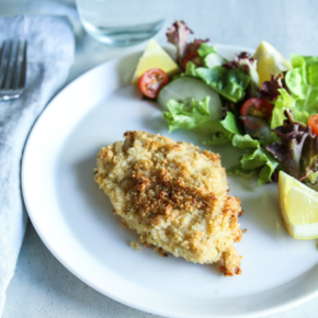 5 Ingredient Parmesan Crusted Pork Chop (1)