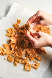 peanut brittle without a candy thermometer