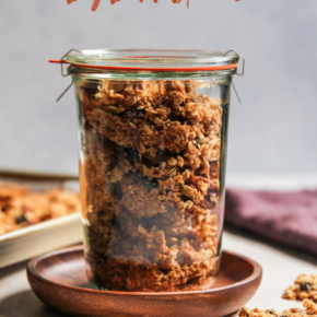 Anything goes big batch granola