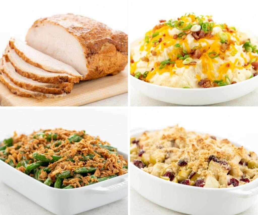 Home Chef thanksgiving menu options