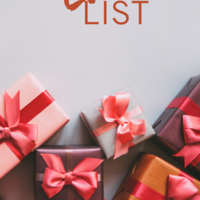 Weekly love list gift guide