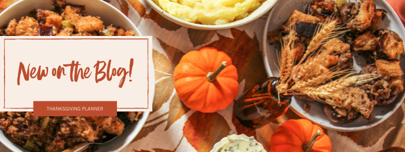 Great Thanksgiving recipes new on the blog