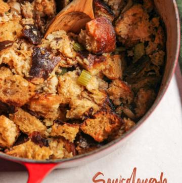 Sourdough Stuffing Recipe