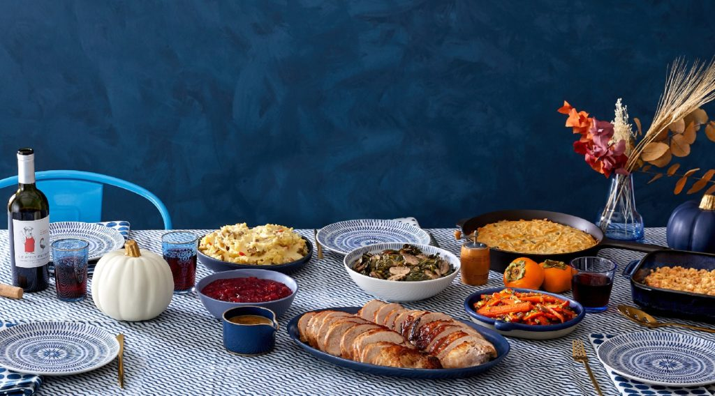 Blue Apron Thanksgiving meal delivery