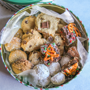 How to make a thoughtful Christmas cookie box