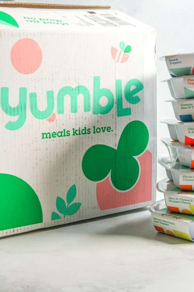 Yumble kids box - healthy kids meals