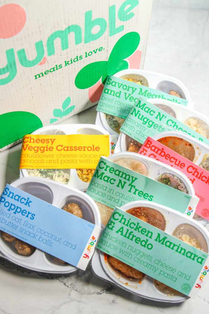 Yumble kids meals - healthy kids meal delivery