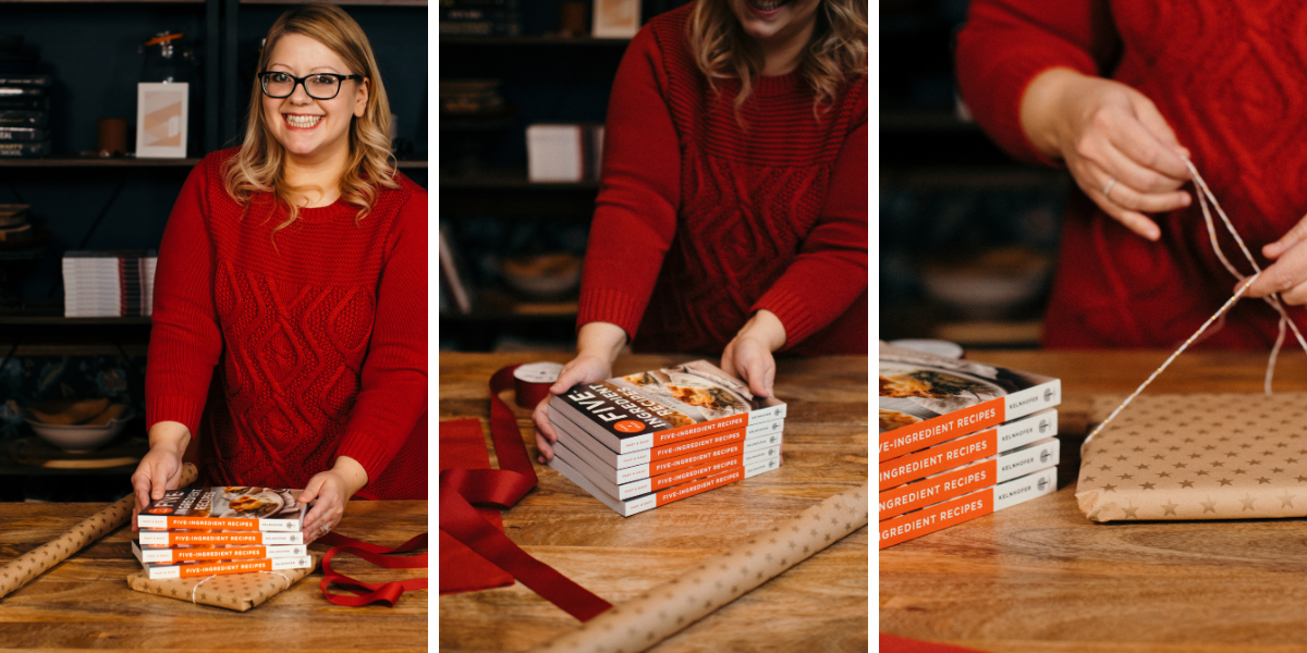 Cookbooks make great gifts