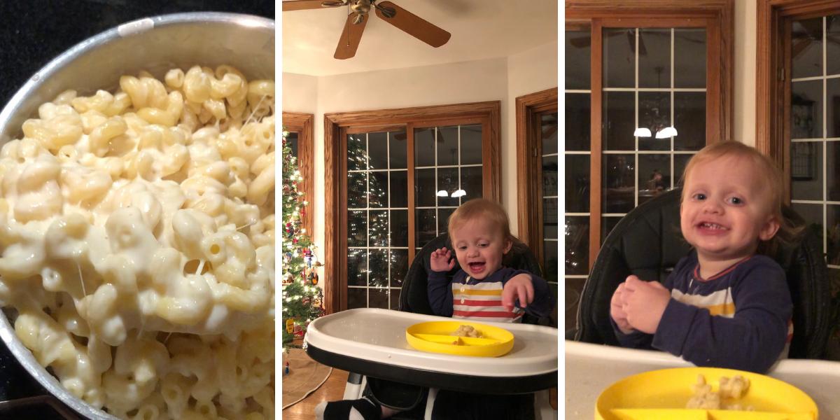 What I made - stovetop mac n' cheese