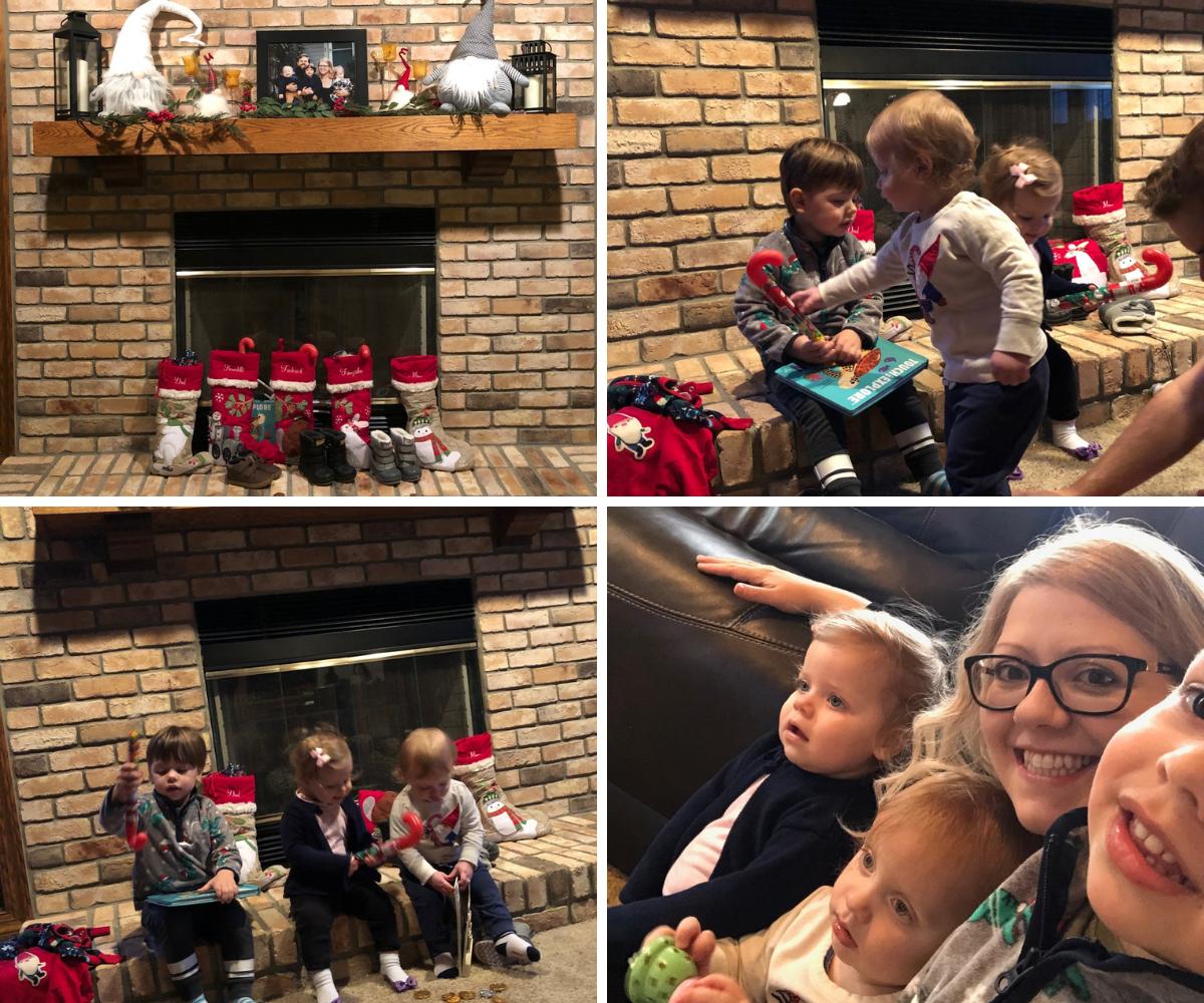 The kids got to celebrate St. Nick's Day