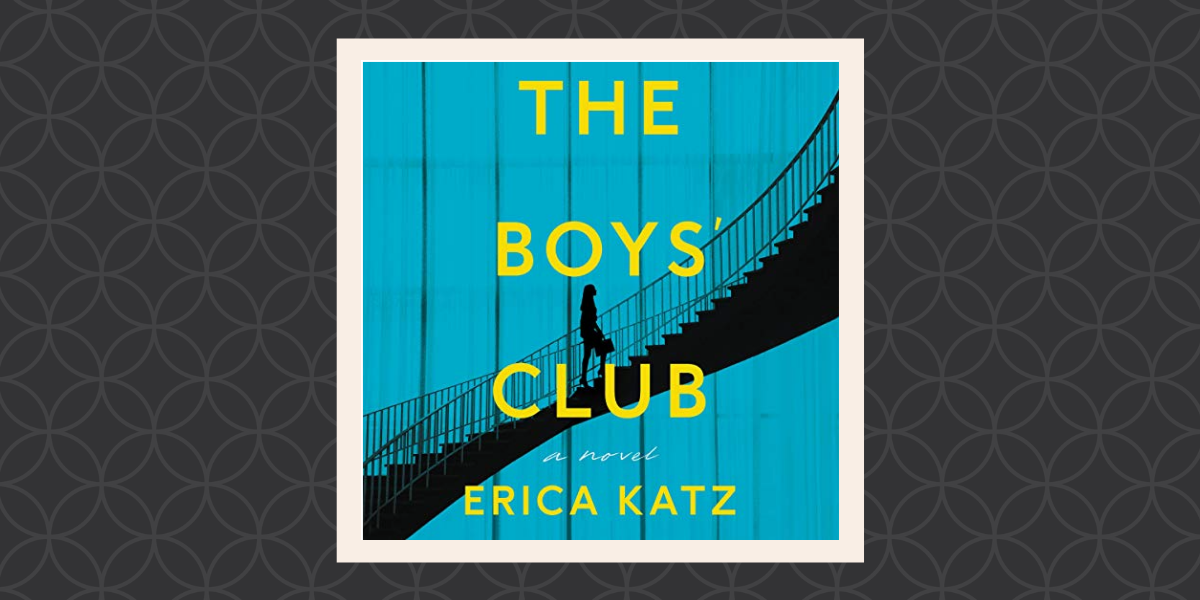I can't wait to start reading The Boys Club