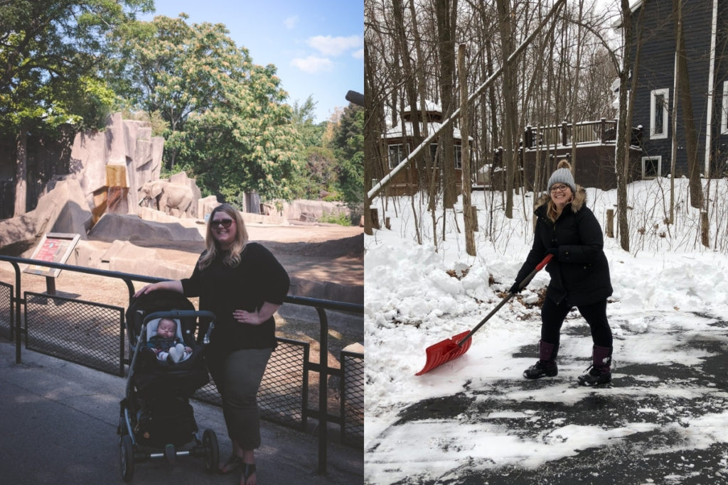 Mom weight loss before after minus 50 lbs