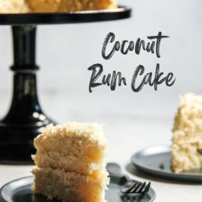 Coconut Rum Cake Recipe