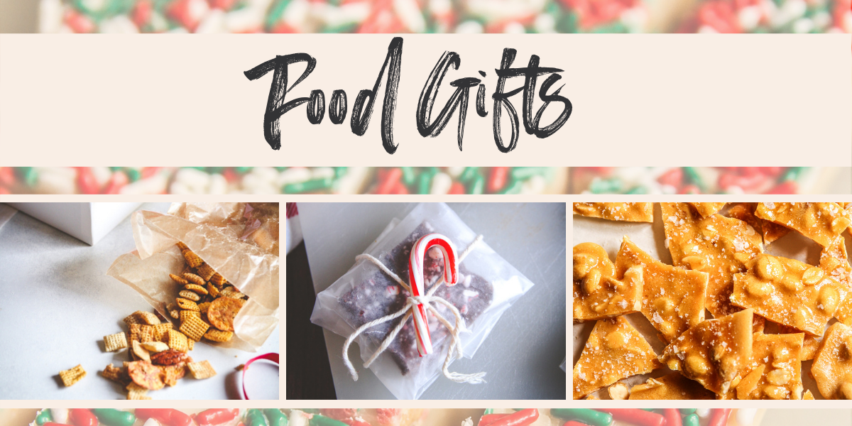 A roundup of my favorite food gifts to give