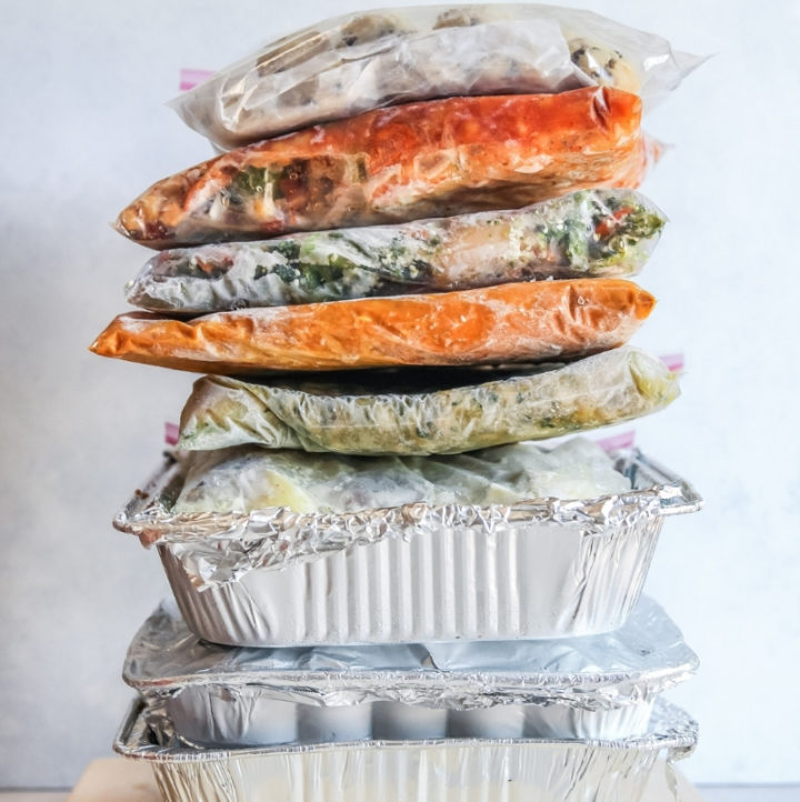 Freezer meals no pre cooking required just prep and freeze