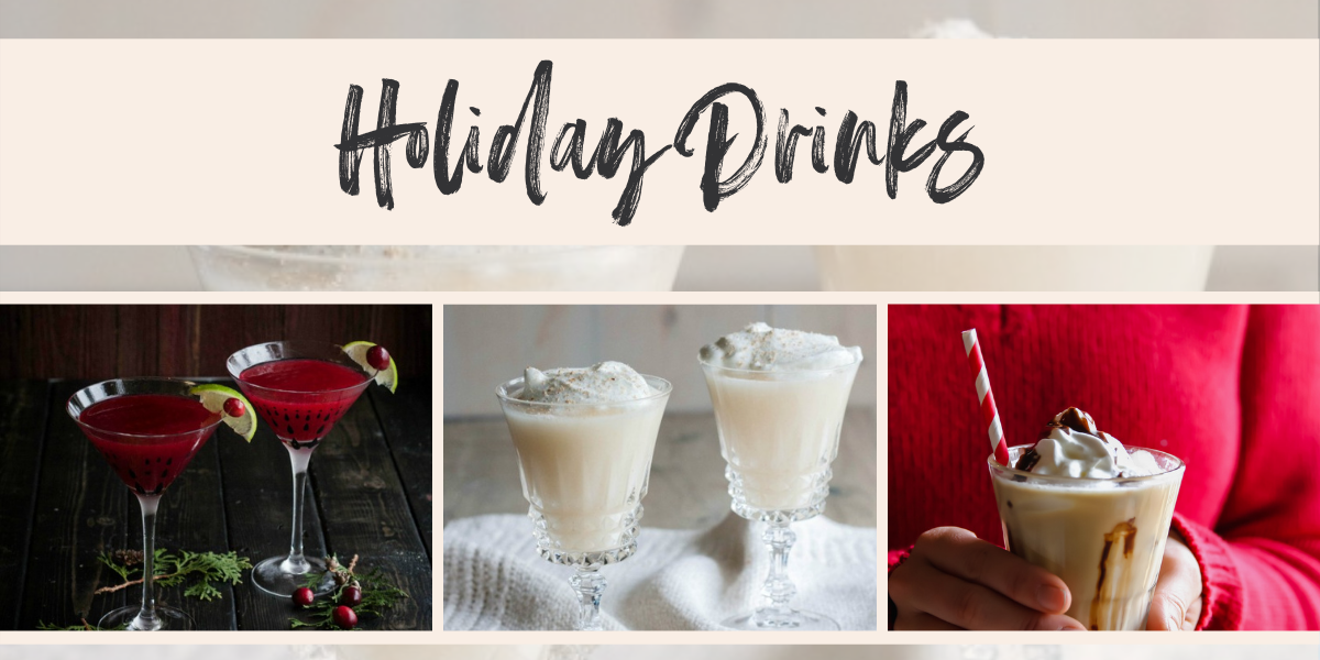 Holiday Drinks Roundup