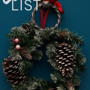 Weekly love list - Christmas wreath