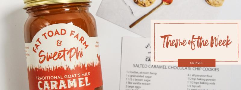 Theme of the week - caramel