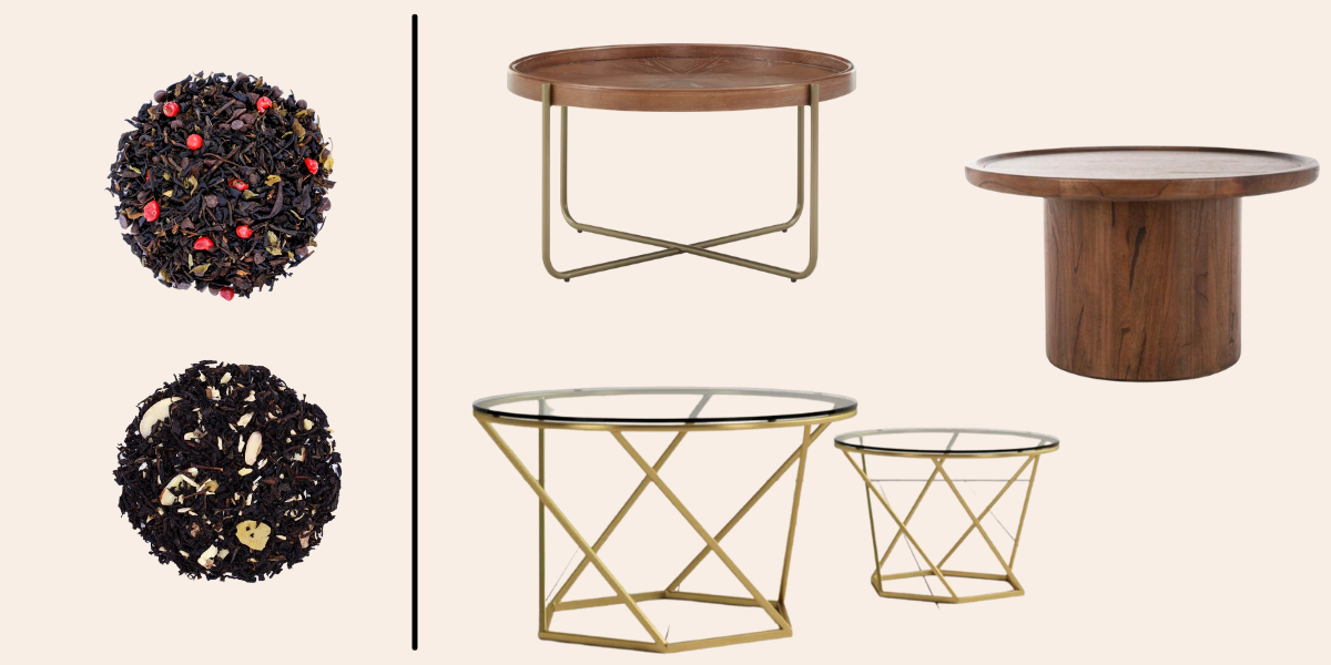 Dessert teas and coffee tables