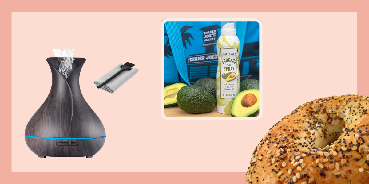 New oil diffuser, Trader Joes article and American foods you can't find in other countries article
