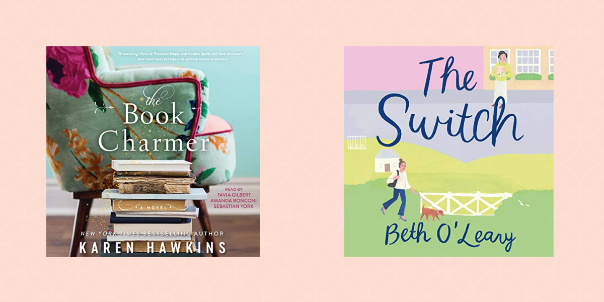 Two books; The Book Charmer and The Switch
