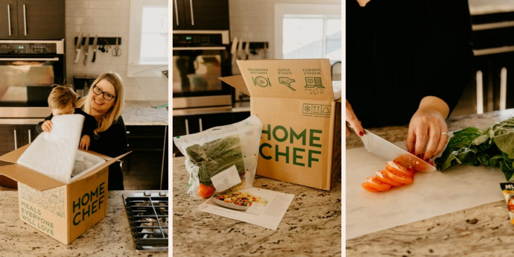 Home chef healthy meal delivery