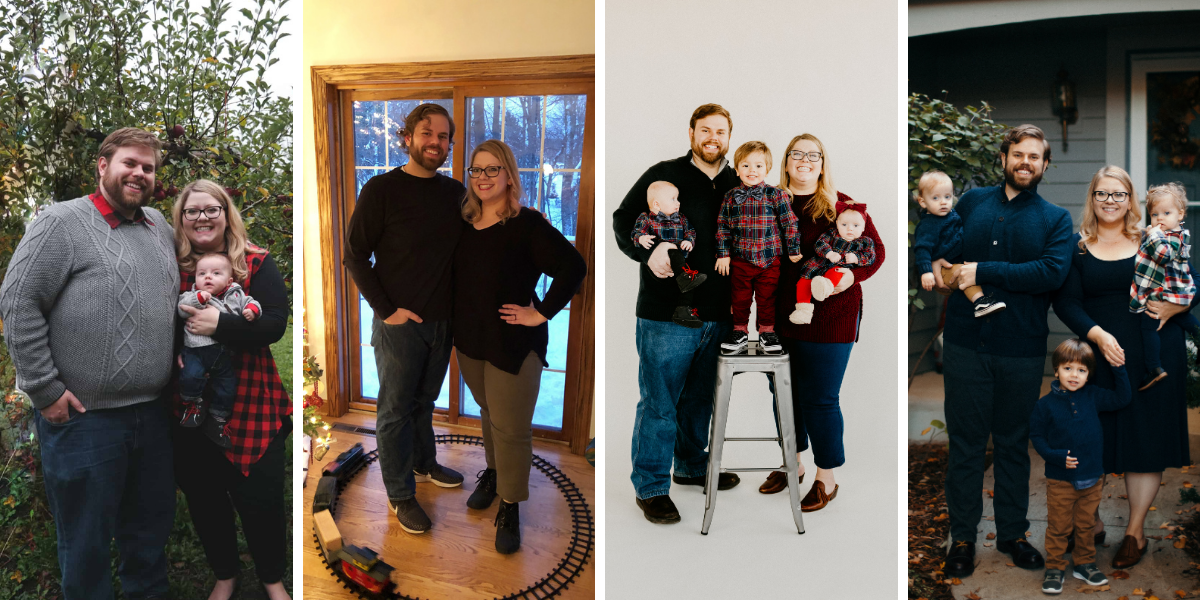 Together, we lost 130 pounds