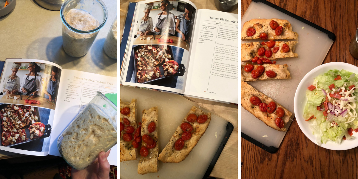 Recipes from Carla Hall's cookbook