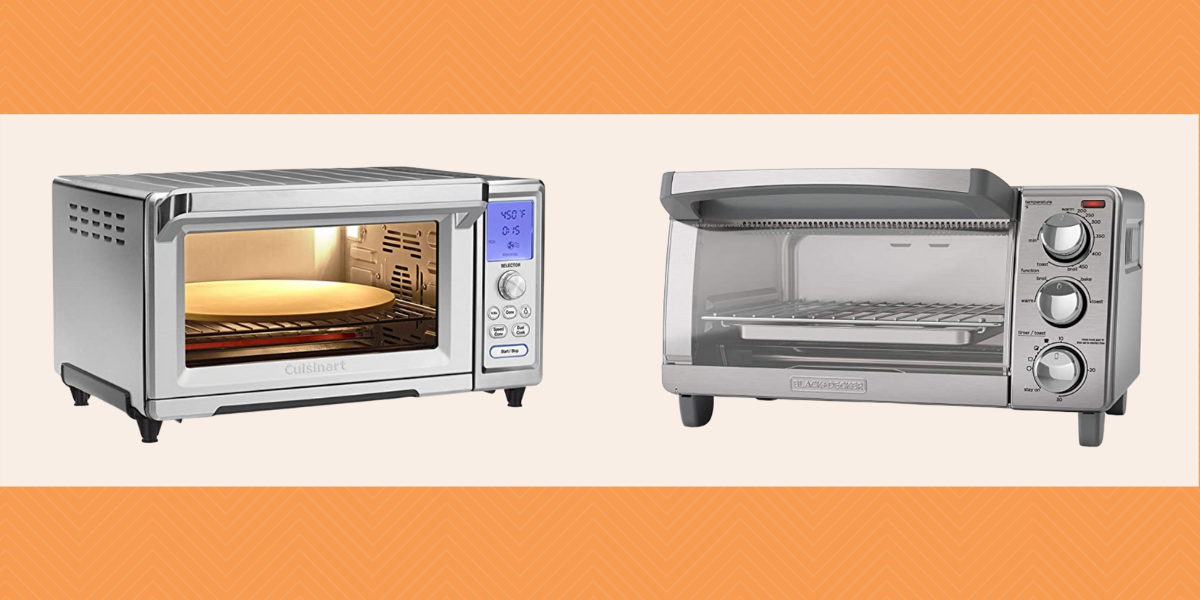 Two different priced toaster ovens