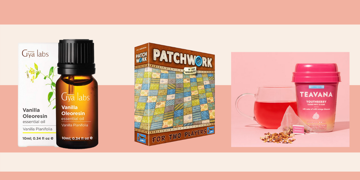 essential oil, board game and the best tea