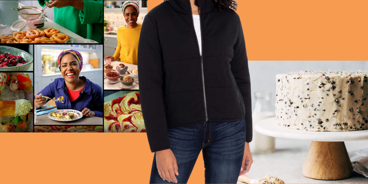 Nadiya's Netflix shows, Costco jacket and cookie dough cake