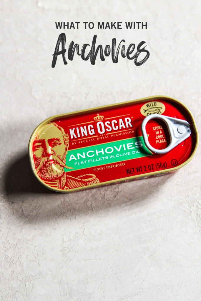 Canned anchovies and what to make with anchovies