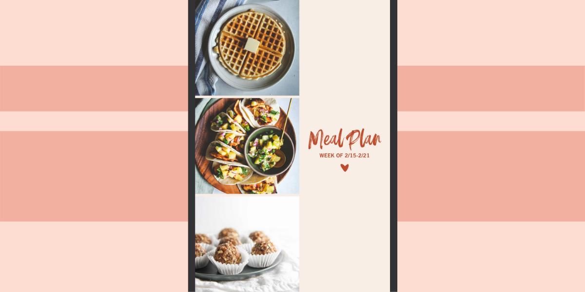 Weekly Meal Plan main image